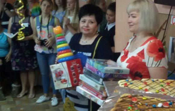 «ОПОРА РОССИИ» устроила праздник для детей с ограниченными возможностями в Джанкое