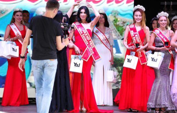 Анастасия Божкова завоевала Гран-при на конкурсе MISS EURASIA 2019