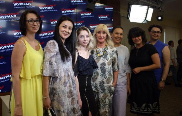 Депутат Оксана Пушкина встретилась с общественными деятелями, предпринимателями и журналистами Крыма