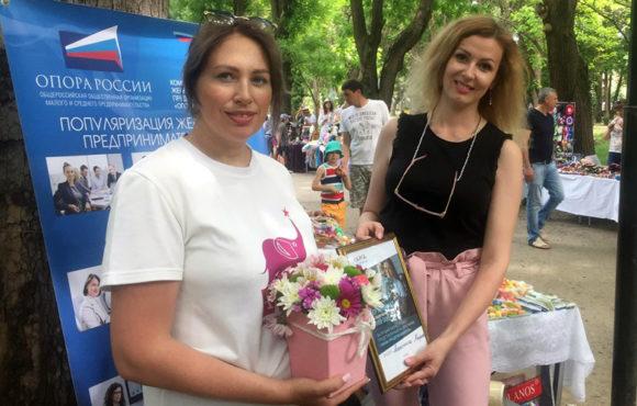 В Симферополе прошла выставка-ярмарка «Сделано мамой. Сделано в России»