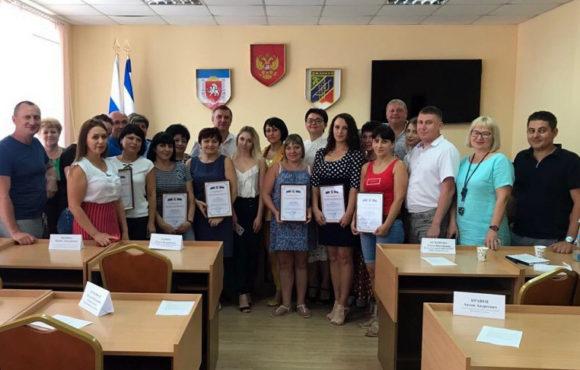 Ольга Кузенкова выступила на совещании «Час предпринимательства» в Джанкое