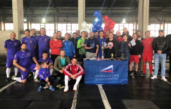 В Симферополе состоялся первый турнир Крымского республиканского отделения по мини-футболу