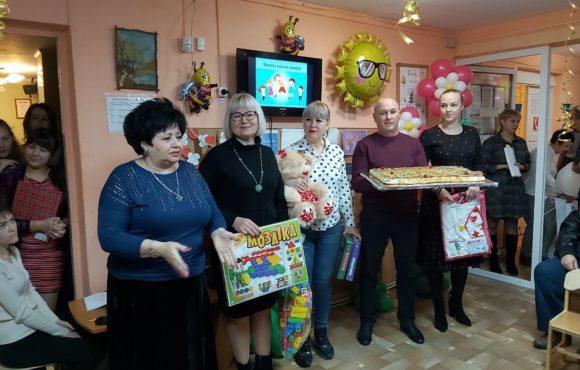 Джанкойское отделение «ОПОРЫ РОССИИ» поздравило с Днём инвалида воспитанников центра «Солнышко»