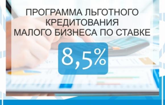 Программа льготного кредитования МСП под 8,5% годовых