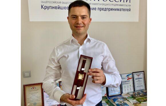 Сергей Лапенко награждён знаком отличия «Часы от Главы Республики Крым»