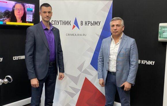 Эдуард Омаров на радио «Спутник в Крыму»
