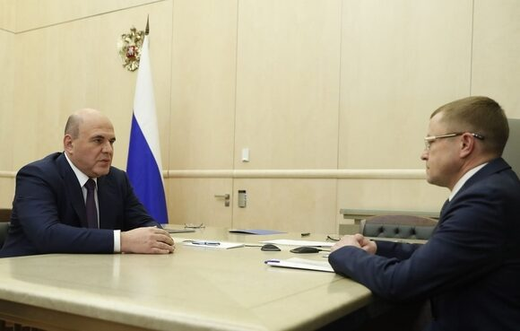 Александр Калинин обсудил с Михаилом Мишустиным актуальные вопросы поддержки МСП