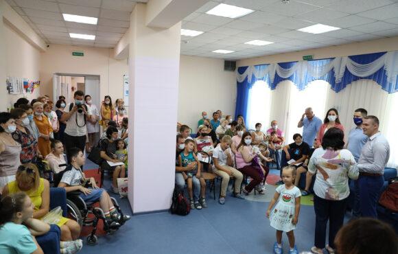 Акция «К школе готов» в центре для особых детей